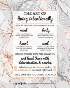 Living-Intentionally