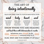 Why live an intentional life?
