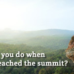 Do you suffer from Summit Syndrome?