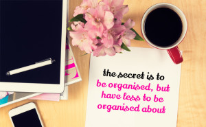 How to manage your inner planner