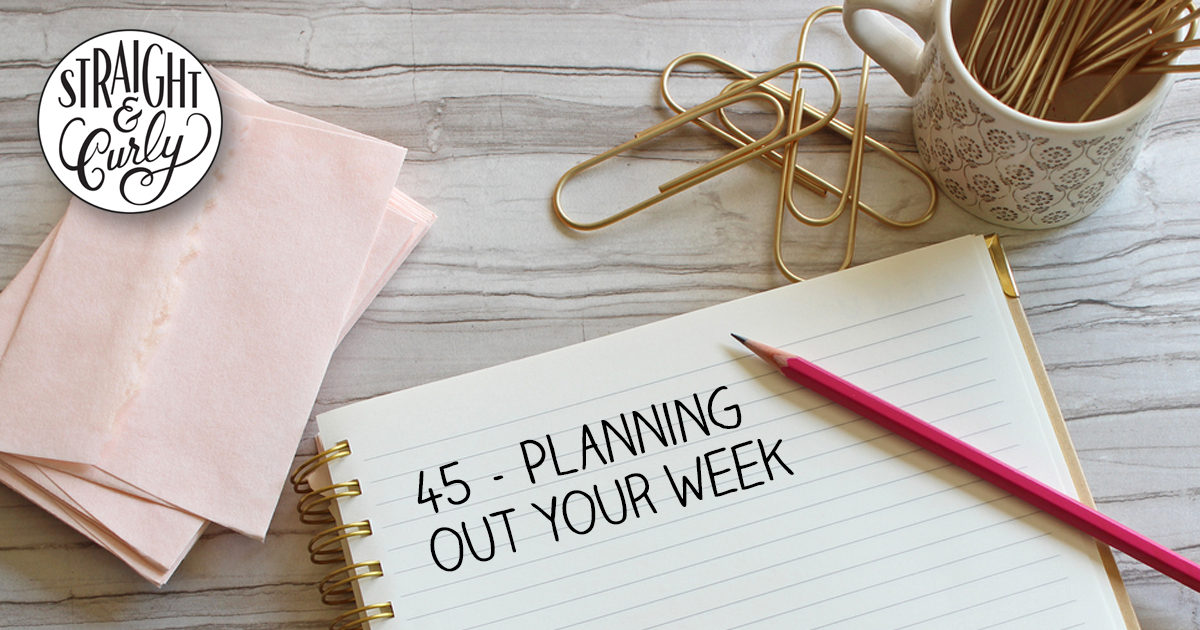 Planning Your Week